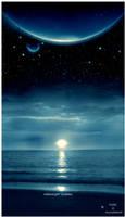 Midnight Ocean by dilekt