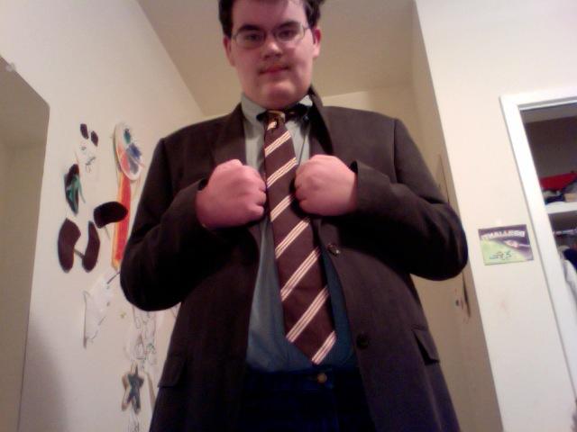 My Doctor Who costume: 10th by ImafanofTororo