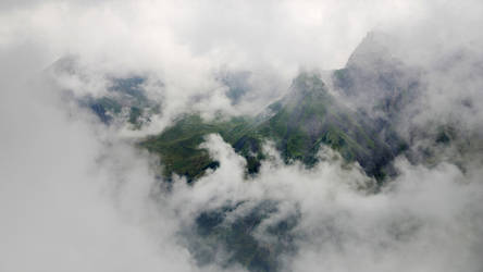 Cloud in Alps