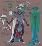 Quetzal Costume Design by fralea