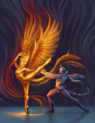 Prince Bahu and the Firebird