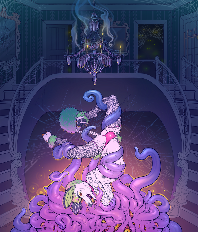 Haunted Mansion by fralea