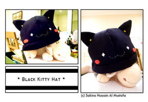 Black Kitty Hat by ChocoAng3l