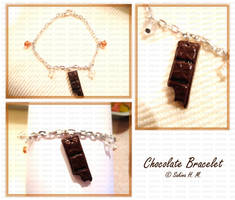 Chocolate Bar Bracelet by ChocoAng3l