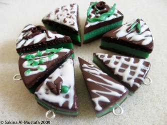 Chocolate Mint Cake by ChocoAng3l