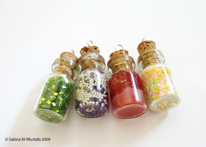 Lil bottles by ChocoAng3l
