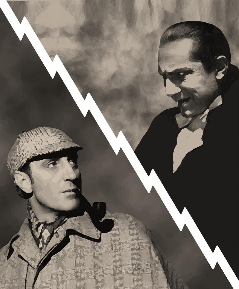 Sherlock Holmes vs. Dracula by Neo128