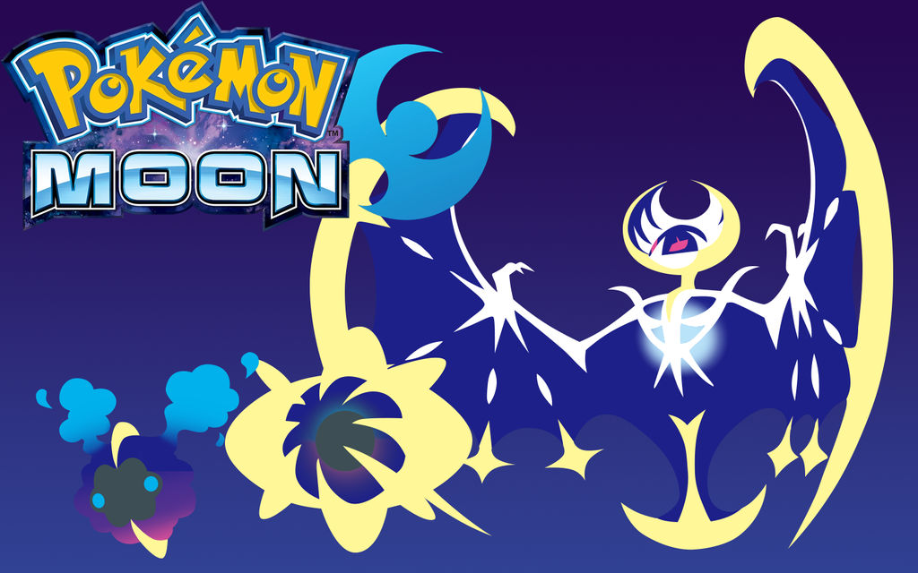 Pokemon Moon Wallpaper By Silverdiamond11 On Deviantart