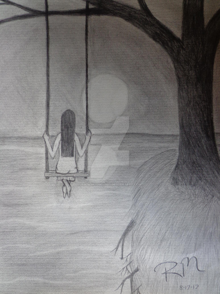 The Lonely Girl by Rain-Moonlight on DeviantArt