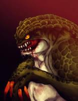 Resident Evil - Hunter by YukiPyro