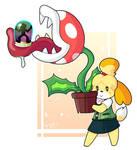 Isabelle - Piranha plant