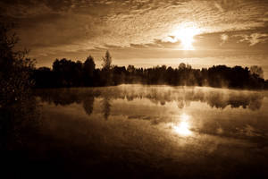 Sunset-Sepia by KarabansRaven