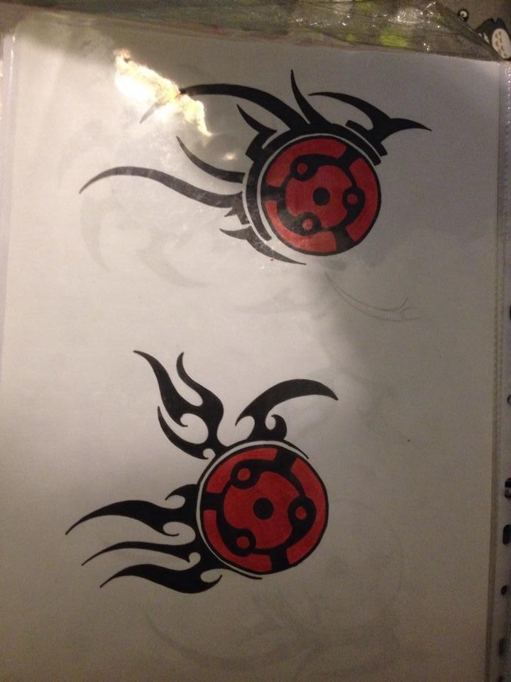 Mangekyou Sharingan Tattoos