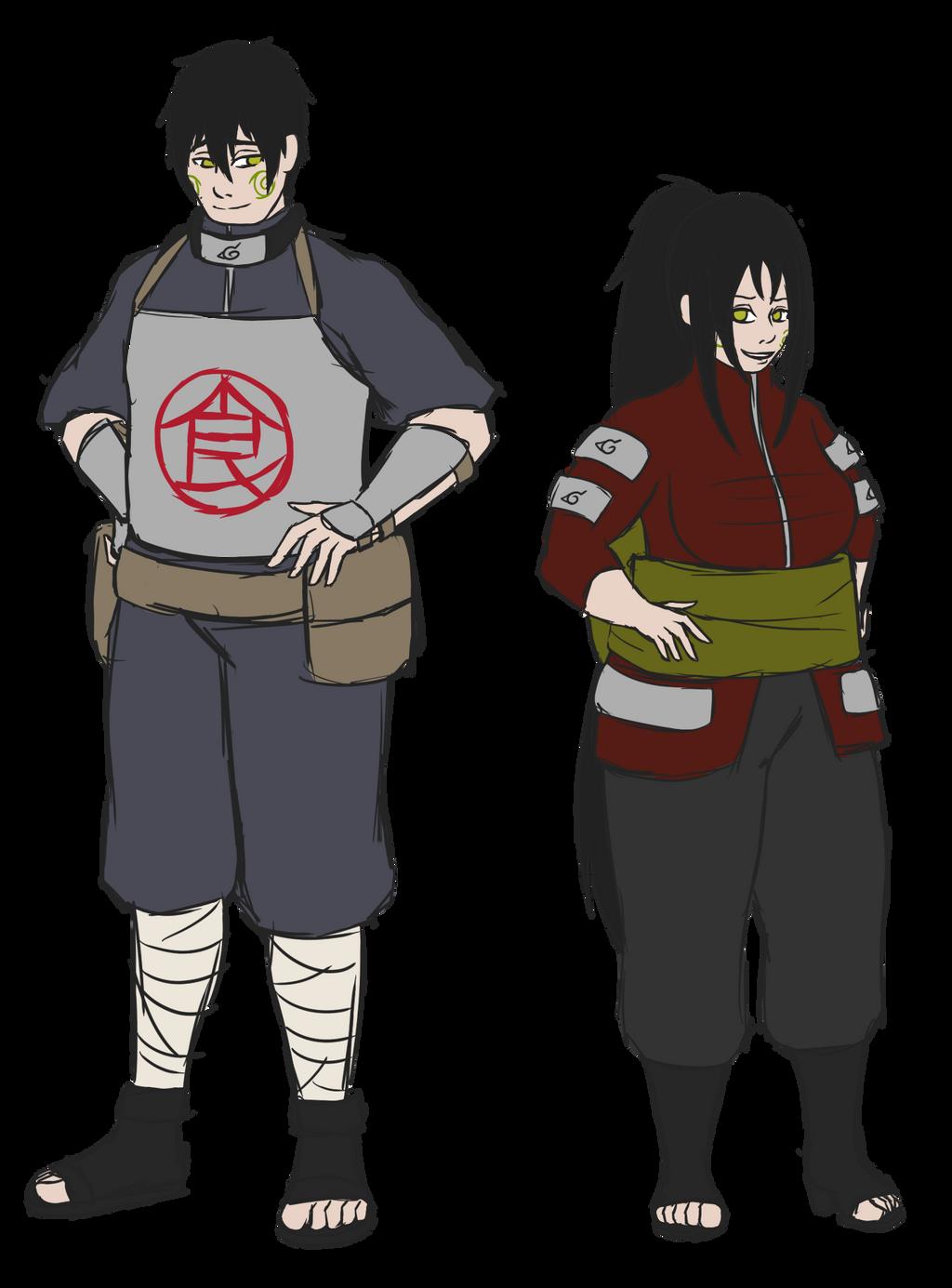 Akimichi Toa and Akimichi Toki by hakutan on DeviantArt