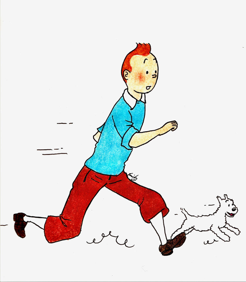 tintin and snowy wallpaper - photo #12