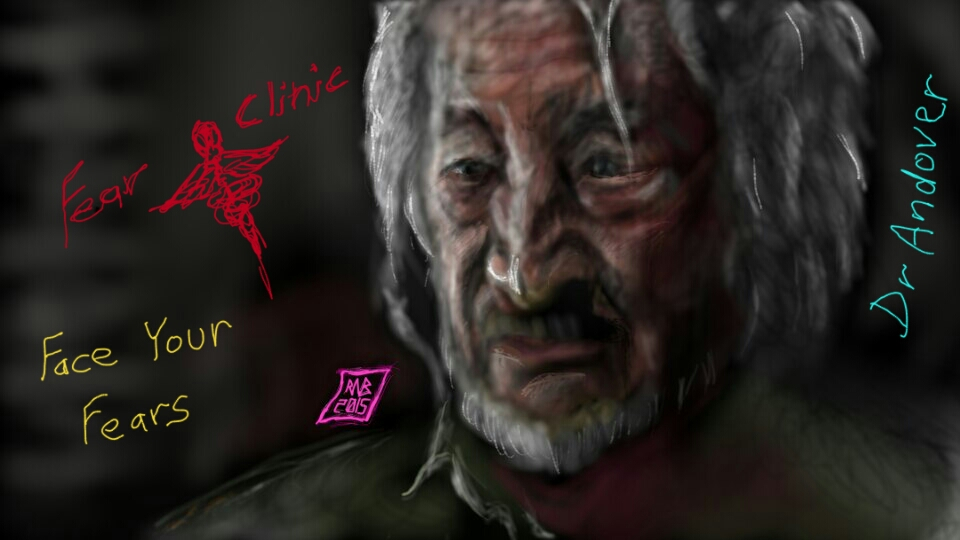 Fear Clinic   Fear Clinic Dr Andover With Robert Englund By Usadragonroar On