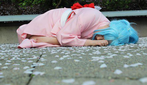 Botan - Napping by Desert-PirateCosplay