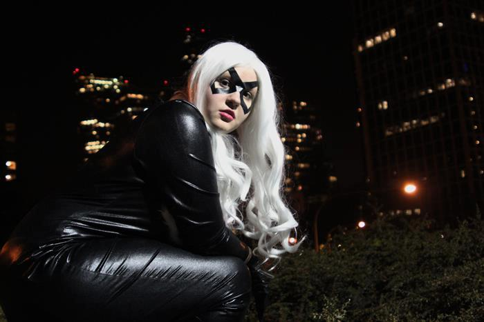 Black Cat - At Night by Desert-PirateCosplay
