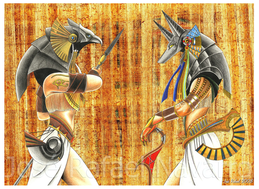anubis and horus relationship problems