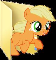 Fillyapplejack Icon by coco-swirl