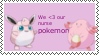 We Heart our nurse pokemon stamp by coco-swirl