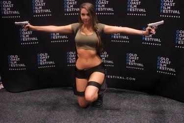 Lara Croft Cosplay at Gold Coast Supernova by AlithiaGaming