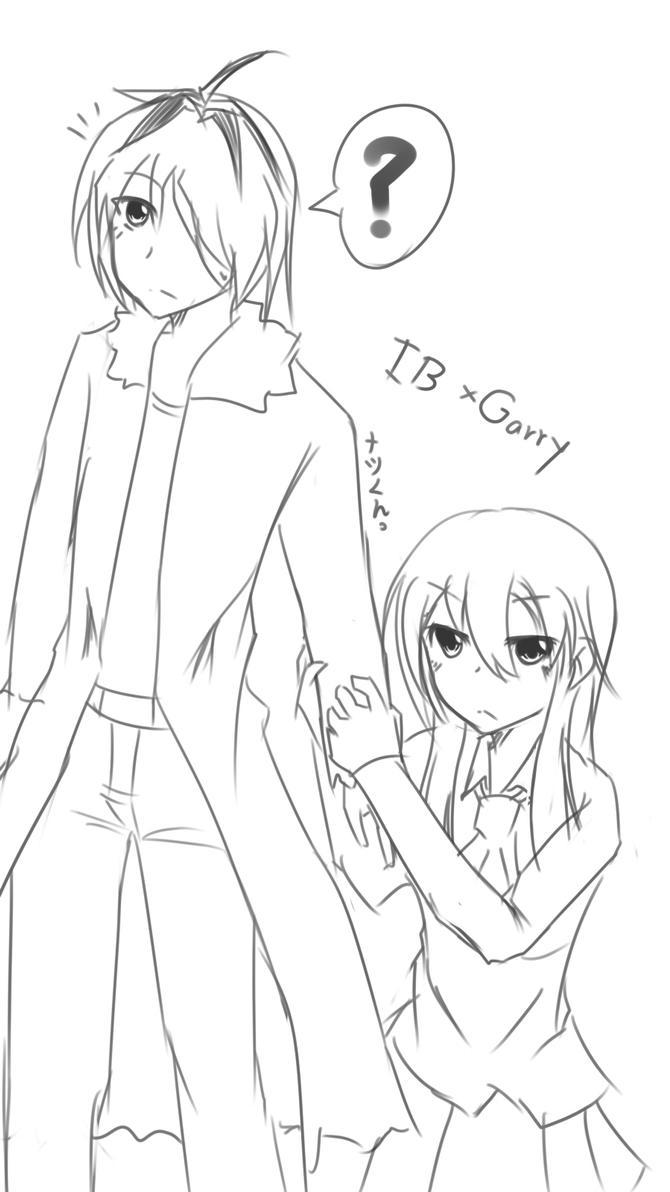 Ib x Garry by natkung