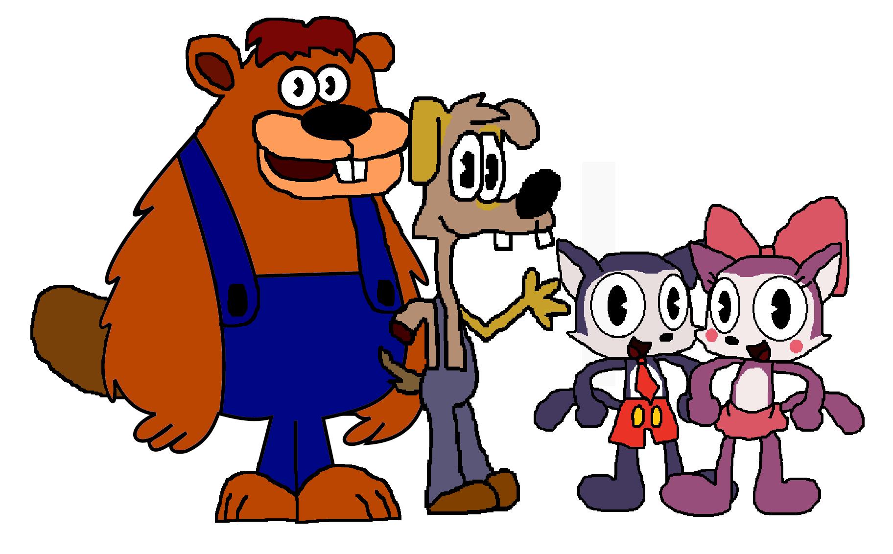 Fazbear And Friends: Old Friends By Joethetwotailedfox99