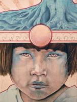 Sun Child 2 by MichaelShapcott