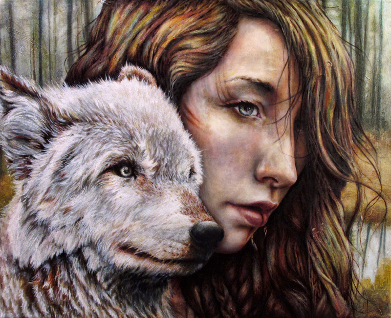 The Girl and the Wolf by MichaelShapcott