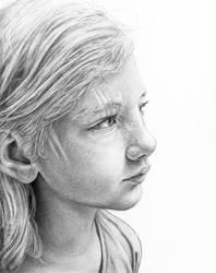 'Clementine in Graphite' by MichaelShapcott