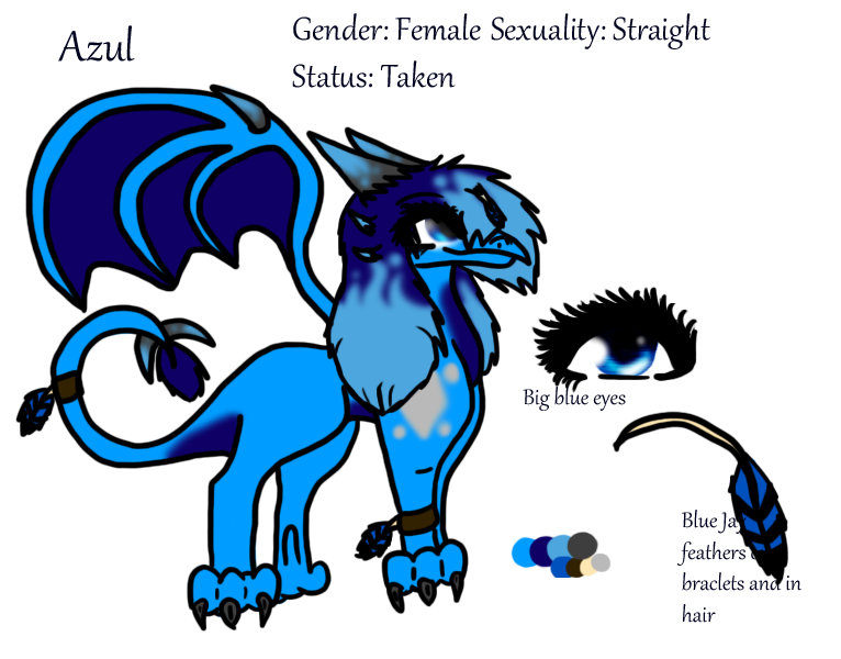 Azul reference by Azul-Assassin