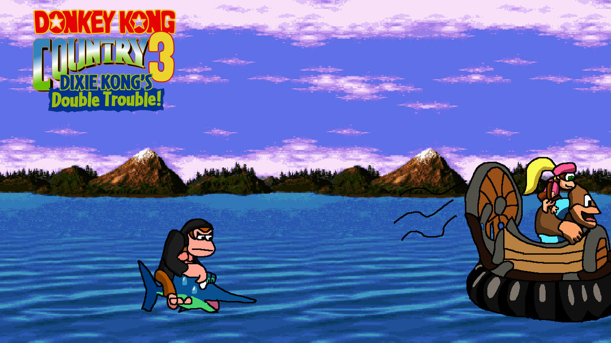 dixie kong double trouble how to find worlds