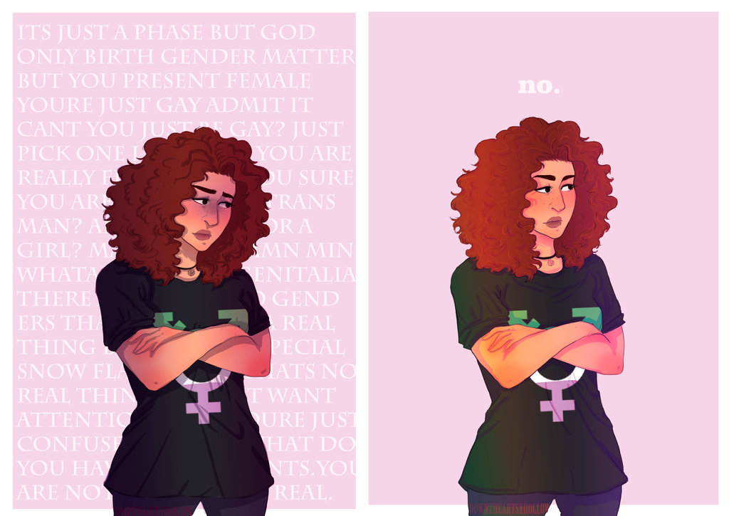 New Trans Am >> Yes, I am Non-binary... by downtheartsyhollow on DeviantArt