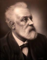 Jules Verne by adambobmartin