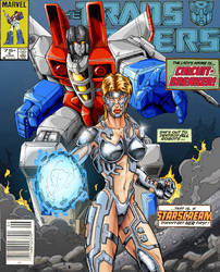 Marvel TF cover homage
