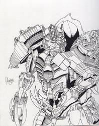TM2 Dinobot by Inker-guy