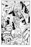 Beast Wars page 4 inks