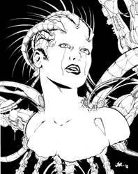Borg Queen's Lament by Inker-guy