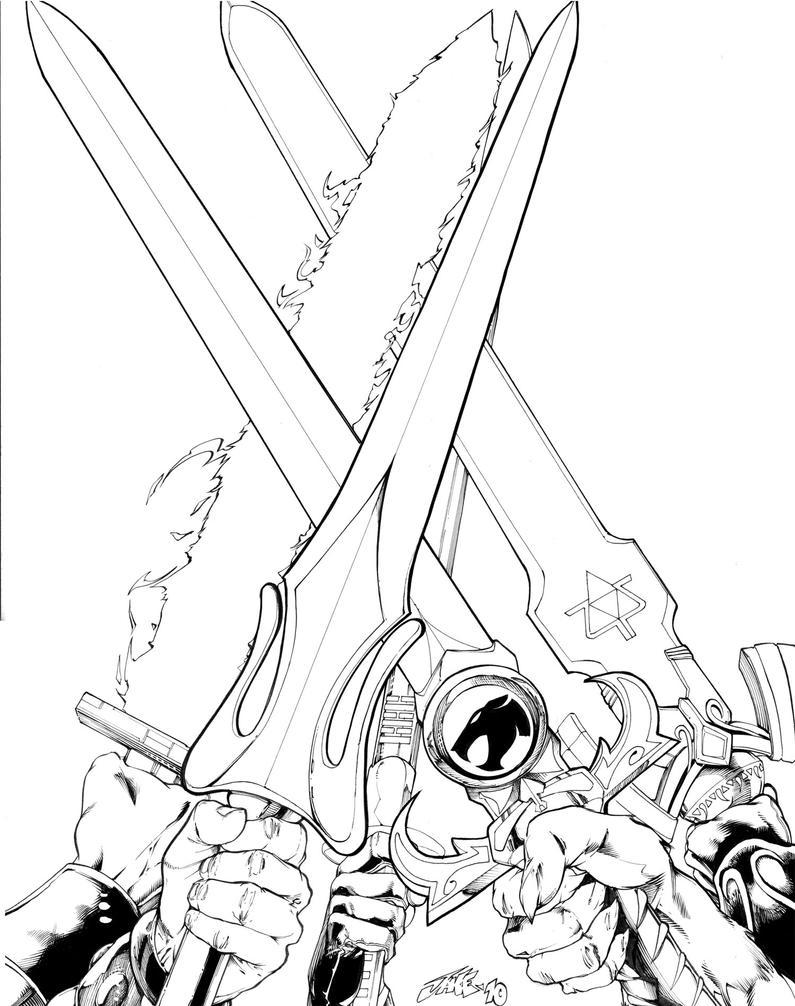 Five Swords By Inker-guy On DeviantArt