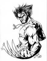 Wolverine by Inker-guy