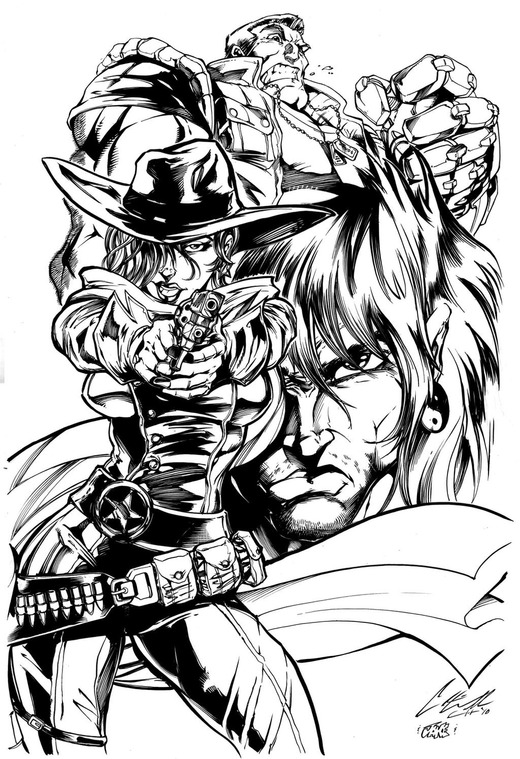 Contract submission 1 inks by Inker-guy