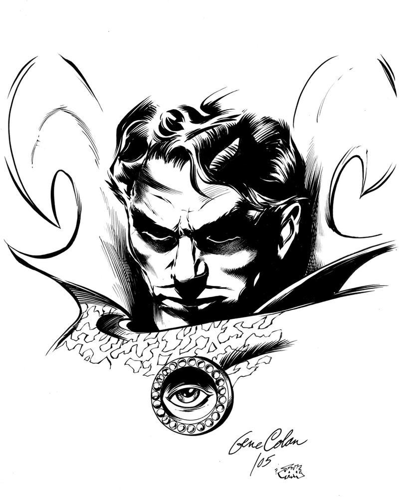 Dr Strange by Inker-guy