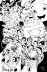 Ghostbusters 30th Anniversary by Inker-guy