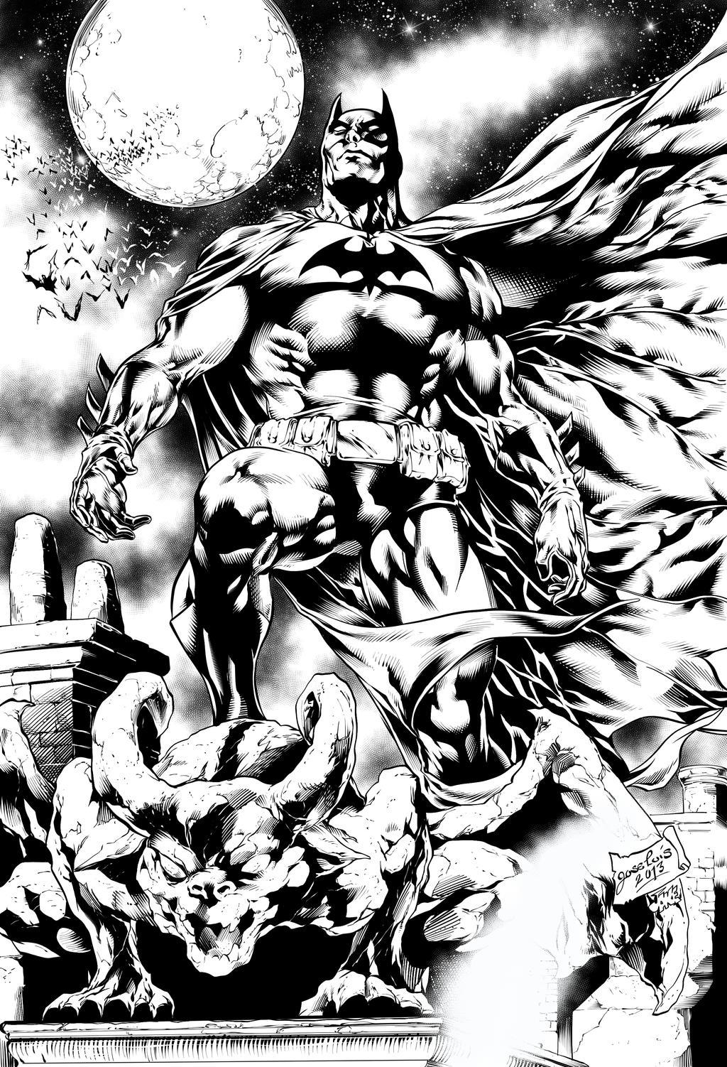 Batman by Inker-guy