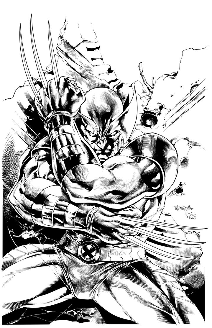 Wolverine by Inker-guy