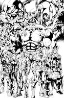 Avengers Ink by Inker-guy