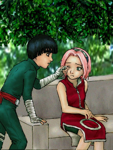 Lee and Sakura by suppai