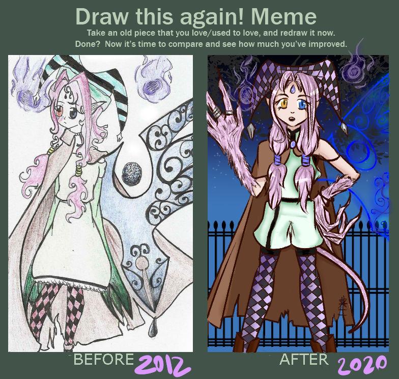 Draw This Again! MEME 2020
