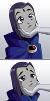 Raven is starved for physical affection